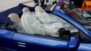 Aston Martin inside