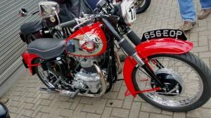 BSA bike in full glory