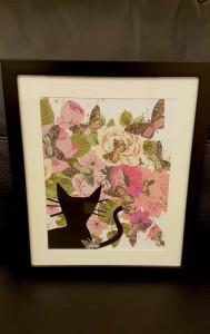 Butterflies Spotting framed