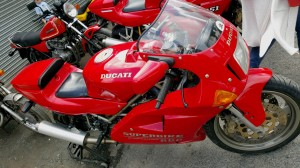 Ducati Desmoquattro profile