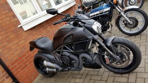 Ducati Diavel Carbon - if you prefer toned colours