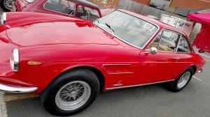 Ferrari Pininfarina profile