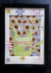 Flower power framed