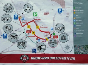 Map of the event