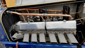 Engine of the Bluebird was regarded as exceptionally advanced in its time.