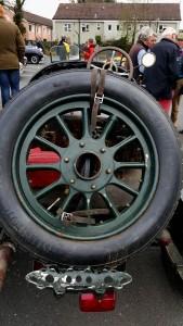 Sunbeam spare wheel