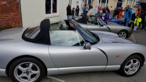 TVR seen from the side