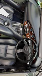 TVR steering wheel