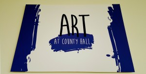 Art at County Hall project logo
