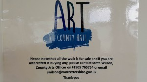 Art in County Hall ad