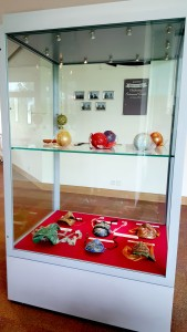 Content of glass cabinet #1